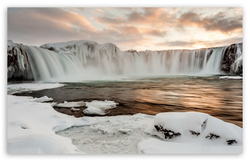 Godafoss Waterfall, Winter, Sunset ❤ 4K UHD Wallpaper for Wide 16:10 5:3 Widescreen WHXGA WQXGA WUXGA WXGA WGA ; UltraWide 21:9 24:10 ; 4K UHD 16:9 Ultra High Definition 2160p 1440p 1080p 900p 720p ; UHD 16:9 2160p 1440p 1080p 900p 720p ; Standard 4:3 5:4 3:2 Fullscreen UXGA XGA SVGA QSXGA SXGA DVGA HVGA HQVGA ( Apple PowerBook G4 iPhone 4 3G 3GS iPod Touch ) ; iPad 1/2/Mini ; Mobile 4:3 5:3 3:2 16:9 5:4 - UXGA XGA SVGA WGA DVGA HVGA HQVGA ( Apple PowerBook G4 iPhone 4 3G 3GS iPod Touch ) 2160p 1440p 1080p 900p 720p QSXGA SXGA ; Dual 16:10 5:3 4:3 5:4 3:2 WHXGA WQXGA WUXGA WXGA WGA UXGA XGA SVGA QSXGA SXGA DVGA HVGA HQVGA ( Apple PowerBook G4 iPhone 4 3G 3GS iPod Touch ) ; Triple 16:10 5:3 16:9 4:3 5:4 3:2 WHXGA WQXGA WUXGA WXGA WGA 2160p 1440p 1080p 900p 720p UXGA XGA SVGA QSXGA SXGA DVGA HVGA HQVGA ( Apple PowerBook G4 iPhone 4 3G 3GS iPod Touch ) ;