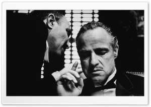 Godfather Marlon Brando HD Wide Wallpaper for Widescreen