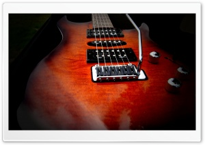Godin Guitar HD Wide Wallpaper for Widescreen