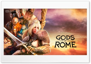 Gods Of Rome Ultra HD Wallpaper for 4K UHD Widescreen desktop, tablet & smartphone
