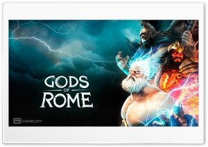 Gods Of Rome HD Wide Wallpaper for 4K UHD Widescreen desktop & smartphone