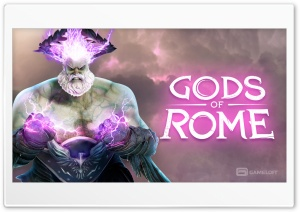 Gods Of Rome HD Wide Wallpaper for Widescreen