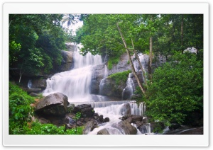 Gods Own Waterfall HD Wide Wallpaper for Widescreen