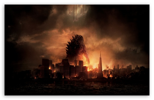 Godzilla HD wallpaper for Wide 16:10 5:3 Widescreen WHXGA WQXGA WUXGA WXGA WGA ; HD 16:9 High Definition WQHD QWXGA 1080p 900p 720p QHD nHD ; Other 3:2 DVGA HVGA HQVGA devices ( Apple PowerBook G4 iPhone 4 3G 3GS iPod Touch ) ; Mobile WVGA iPhone PSP - WVGA WQVGA Smartphone ( HTC Samsung Sony Ericsson LG Vertu MIO ) HVGA Smartphone ( Apple iPhone iPod BlackBerry HTC Samsung Nokia ) Sony PSP Zune HD Zen ;