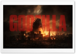 GOdzilla 2014 HD Wide Wallpaper for Widescreen