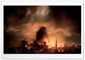 Godzilla HD Wide Wallpaper for Widescreen