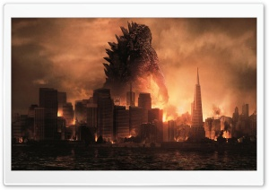 Godzilla Monsters HD Wide Wallpaper for Widescreen