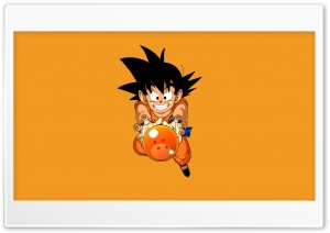 Goku HD Wide Wallpaper for Widescreen