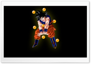 Goku Ball HD Wide Wallpaper for Widescreen