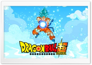 Goku Blue HD Wide Wallpaper for 4K UHD Widescreen desktop & smartphone