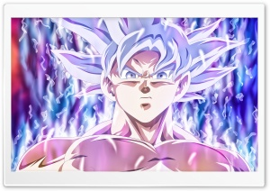 Goku Mastered Ultra Instinct HD Wide Wallpaper for 4K UHD Widescreen desktop & smartphone