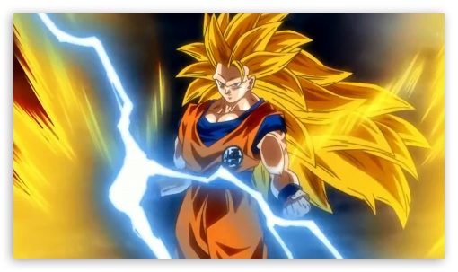Goku Super Saiyan 3 4k Hd Desktop Wallpaper For Tablet