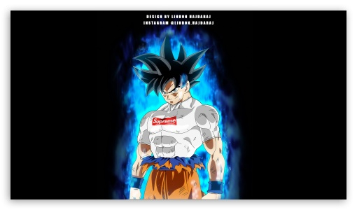 Download GOKU Supreme Transformation HD Wallpaper