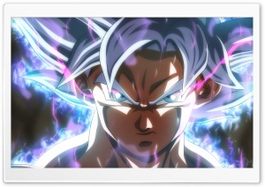 Goku Ultra Instinct HD Wide Wallpaper for 4K UHD Widescreen desktop & smartphone