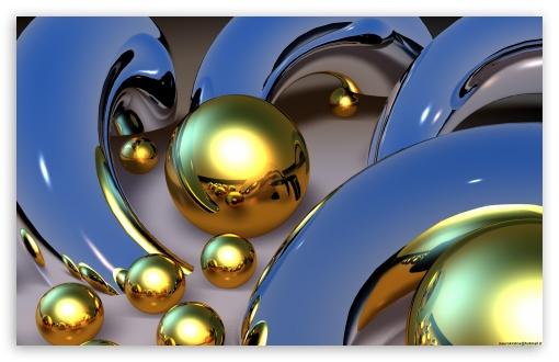 Gold Balls ❤ 4K UHD Wallpaper for Wide 16:10 5:3 Widescreen WHXGA WQXGA WUXGA WXGA WGA ; 4K UHD 16:9 Ultra High Definition 2160p 1440p 1080p 900p 720p ; Mobile 5:3 16:9 - WGA 2160p 1440p 1080p 900p 720p ;