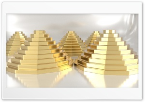 Gold_blocks HD Wide Wallpaper for Widescreen