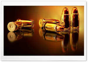 Gold Bullets Ultra HD Wallpaper for 4K UHD Widescreen desktop, tablet & smartphone