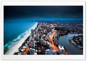 Gold Coast Australia HD Wide Wallpaper for Widescreen