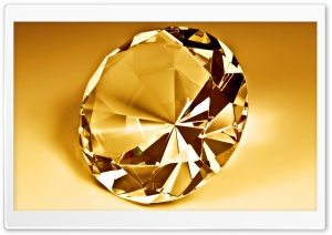 Gold Diamond HD Wide Wallpaper for Widescreen