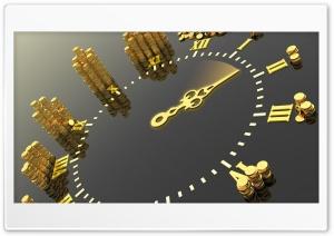 Gold watch Ultra HD Wallpaper for 4K UHD Widescreen desktop, tablet & smartphone