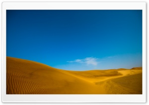 Golden Desert HD Wide Wallpaper for Widescreen