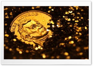 Golden Dollar HD Wide Wallpaper for Widescreen