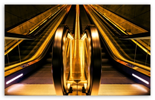 Golden Escalators HD wallpaper for Wide 16:10 5:3 Widescreen WHXGA WQXGA WUXGA WXGA WGA ; HD 16:9 High Definition WQHD QWXGA 1080p 900p 720p QHD nHD ; Standard 4:3 5:4 3:2 Fullscreen UXGA XGA SVGA QSXGA SXGA DVGA HVGA HQVGA devices ( Apple PowerBook G4 iPhone 4 3G 3GS iPod Touch ) ; Tablet 1:1 ; iPad 1/2/Mini ; Mobile 4:3 5:3 3:2 16:9 5:4 - UXGA XGA SVGA WGA DVGA HVGA HQVGA devices ( Apple PowerBook G4 iPhone 4 3G 3GS iPod Touch ) WQHD QWXGA 1080p 900p 720p QHD nHD QSXGA SXGA ;
