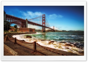 Golden Gate HD Wide Wallpaper for Widescreen