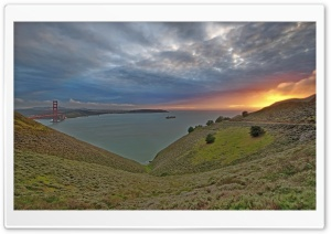 Golden Gate HD Wide Wallpaper for 4K UHD Widescreen desktop & smartphone