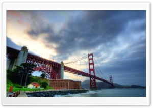 Golden Gate Bridge HD Wide Wallpaper for 4K UHD Widescreen desktop & smartphone
