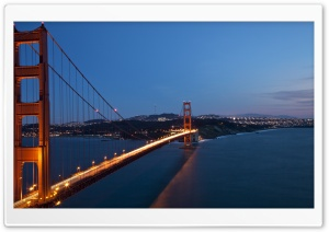 Golden Gate Bridge Ultra HD Wallpaper for 4K UHD Widescreen desktop, tablet & smartphone
