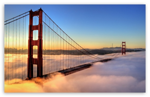 Golden Gate Bridge Enveloped by Fog ❤ 4K UHD Wallpaper for Wide 16:10 5:3 Widescreen WHXGA WQXGA WUXGA WXGA WGA ; 4K UHD 16:9 Ultra High Definition 2160p 1440p 1080p 900p 720p ; Standard 4:3 5:4 3:2 Fullscreen UXGA XGA SVGA QSXGA SXGA DVGA HVGA HQVGA ( Apple PowerBook G4 iPhone 4 3G 3GS iPod Touch ) ; Tablet 1:1 ; iPad 1/2/Mini ; Mobile 4:3 5:3 3:2 16:9 5:4 - UXGA XGA SVGA WGA DVGA HVGA HQVGA ( Apple PowerBook G4 iPhone 4 3G 3GS iPod Touch ) 2160p 1440p 1080p 900p 720p QSXGA SXGA ; Dual 5:4 QSXGA SXGA ;