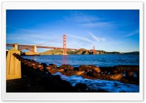 Golden Gate Bridge Fort Point Ultra HD Wallpaper for 4K UHD Widescreen desktop, tablet & smartphone