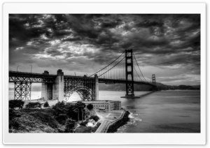 Golden Gate Bridge HDR HD Wide Wallpaper for 4K UHD Widescreen desktop & smartphone
