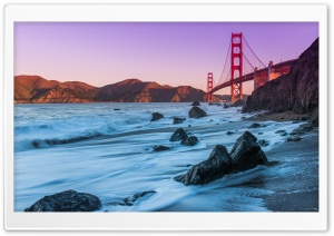 Golden Gate Bridge, San Francisco HD Wide Wallpaper for 4K UHD Widescreen desktop & smartphone