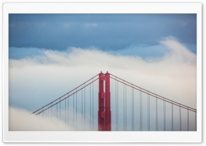 Golden Gate Bridge Top HD Wide Wallpaper for Widescreen
