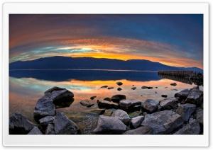 Golden Sunset Ultra HD Wallpaper for 4K UHD Widescreen desktop, tablet & smartphone