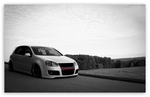 Golf 5 GTI 4K HD Desktop Wallpaper For 4K Ultra HD TV