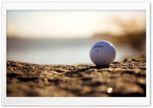 Golf Ball HD Wide Wallpaper for 4K UHD Widescreen desktop & smartphone