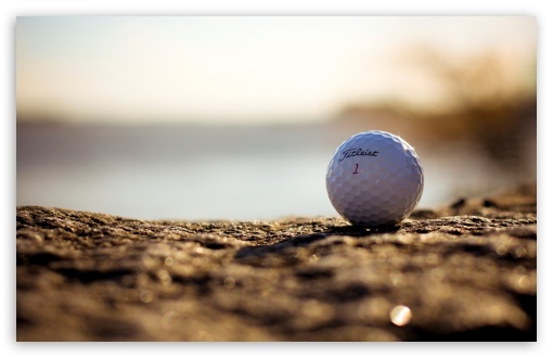 Golf Ball 4K HD Desktop Wallpaper For 4K Ultra HD TV