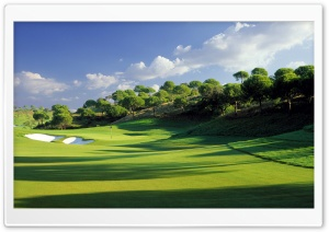 Golf Course HD Wide Wallpaper for 4K UHD Widescreen desktop & smartphone