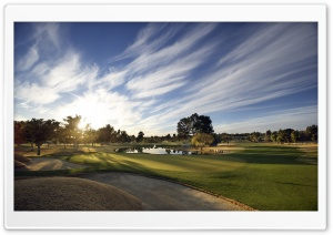 Golf Course Green HD Wide Wallpaper for Widescreen