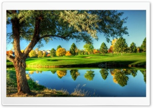 Golf Course Landscape HD Wide Wallpaper for Widescreen