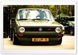 Golf GTI HD Wide Wallpaper for Widescreen