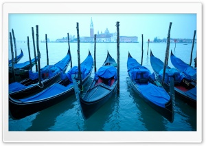 Gondolas HD Wide Wallpaper for Widescreen