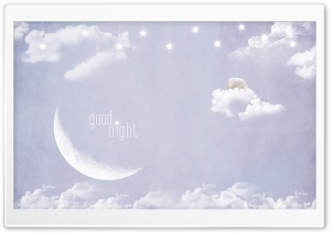 Good Night HD Wide Wallpaper for Widescreen