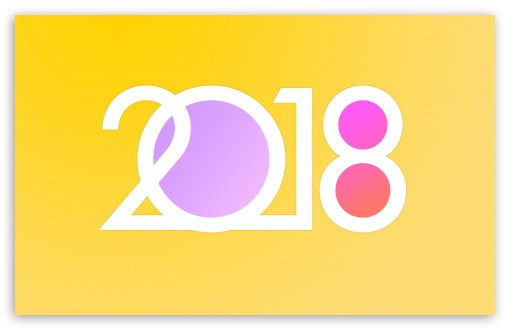 download goodbye 2017 welcome 2018 new year hd wallpaper