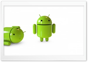 Google Android Robot HD Wide Wallpaper for Widescreen