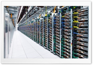 Google Datacenter HD Wide Wallpaper for Widescreen