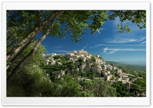 Gordes, France HD Wide Wallpaper for Widescreen